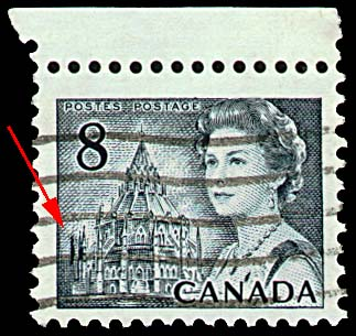 Image result for 8c centennial issue stamp extra spire variety